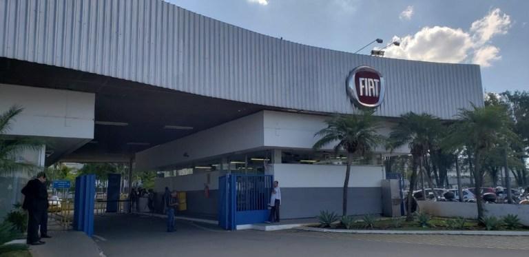 Fábrica da Fiat em Betim (MG). Foto: Patrícia Fíuza